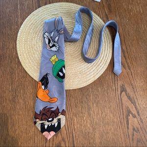 DaftyThe Duck Cartoon Character Fun Silk Dress Tie